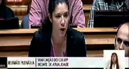 "Joana Mortágua: ""O ranking mostra que o contexto social não conta para ranking"""
