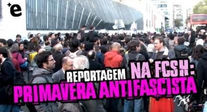 Primavera antifascista na FCSH | ESQUERDA.NET
