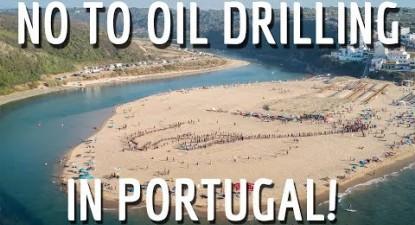 Não ao Furo! Sim ao Futuro – No to oil drilling in Portugal!