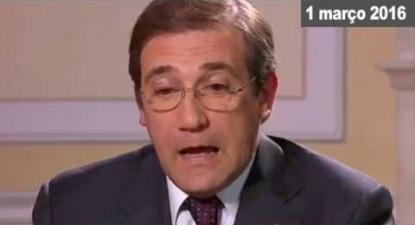 Passos Coelho vai mesmo apelar ao voto na esquerda? | ESQUERDA.NET