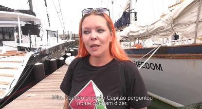 Flotilha da Liberdade passa por Portugal a caminho de Gaza | ESQUERDA.NET