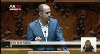 """Pedro Filipe Soares: """"O SIRESP é uma negociata que tem fragilizado o país"""""""