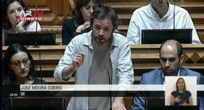 """José Soeiro: """"Estamos a assistir ao maior processo de assédio moral em larga escala"""""""