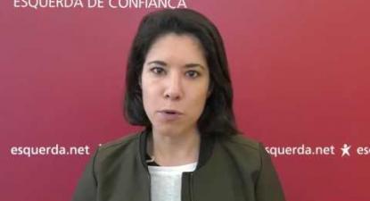 Joana Mortágua apela à Greve dos Professores