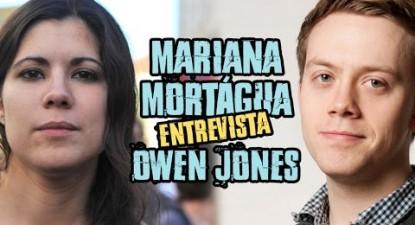 +e | Mariana Mortágua entrevista Owen Jones | ESQUERDA.NET