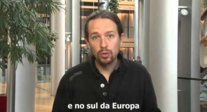 Pablo Iglesias apoia Bloco de Esquerda | ESQUERDA.NET