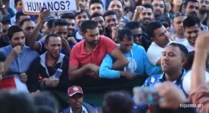 Manifestação de imigrantes em Lisboa   ESQUERDA.NET