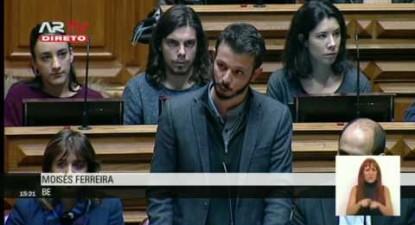 """Moisés Ferreira: """"As parcerias público-privadas na saúde não trazem nenhuma vantagem ao SNS"""""""