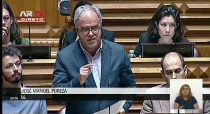 """José Manuel Pureza: """"Sob a capa de proteger direitos o que faz a proposta do CDS é negar direitos"""""""