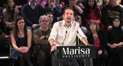 Pablo Iglesias |  | Mega comício nacional | Presidenciais 2016