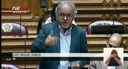 "José. M. Pureza: ""Como é que se pode relegar a criminalidade financeira para um lugar subalterno?"""