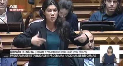 """Mariana Mortágua: """"Fragilidade do programa de estabilidade é fragilidade de Bruxelas"""""""