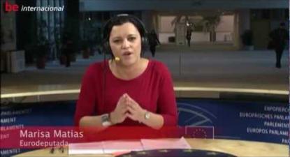 Marisa Matias - Cimeira Europeia: Coelho fanfarrão - 2012/11/23
