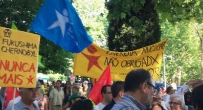 Manifestação anti-nuclear em Madrid | ESQUERDA.NET