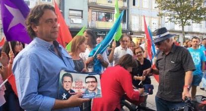 Autárquicas 2017: Arruada em Barcelos | ESQUERDA.NET