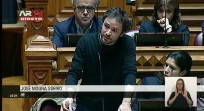 """José Soeiro: """"Trabalho com direitos para combater os défices de justiça e o bloqueio da economia"""""""