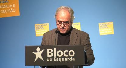 José Manuel Pureza na conferência sobre despenalização da morte assistida | ESQUERDA.NET