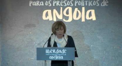 Lídia Jorge | Liberdade aos Presos Políticos em Angola | 5 Maio 2016 | Fórum Lisboa
