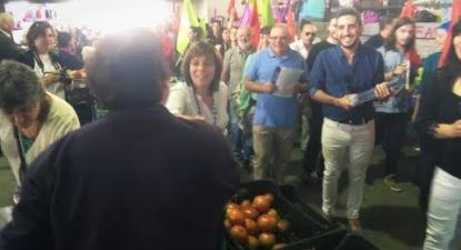 Autárquicas 2017: Arruada em Amarante | ESQUERDA.NET