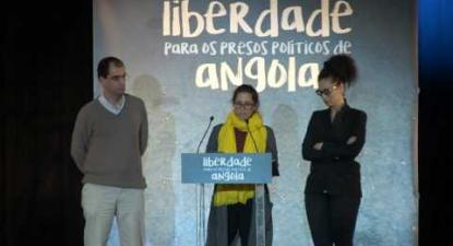 Serena | Liberdade aos Presos Políticos em Angola | 5 Maio 2016 | Fórum Lisboa