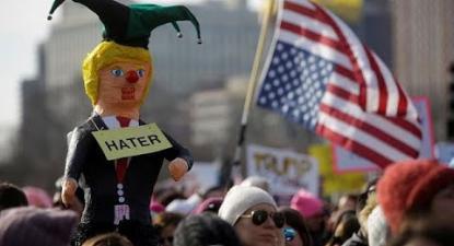 """""""Marcha das Mulheres"""" em desafio a Trump"""