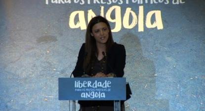 Marisa Matias | Liberdade aos Presos Políticos em Angola | 5 Maio 2016 | Fórum Lisboa