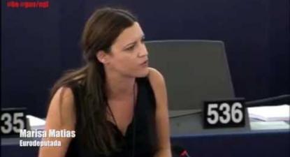 Semestre europeu: o castigo para os fracos - Marisa Matias 2015.10.28