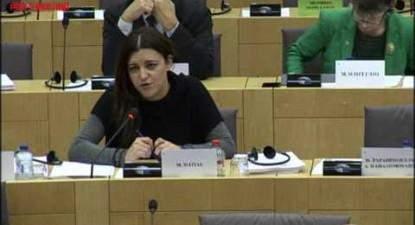 Draghi não responde sobre política de estímulos - Marisa Matias 2016.11.28
