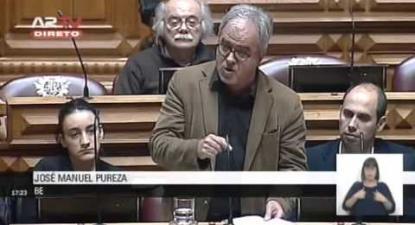 """José Manuel Pureza: """"Uma justiça ao serviço da cidadania"""""""