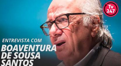 TV 247 entrevista Boaventura de Sousa Santos (31.out.2018)
