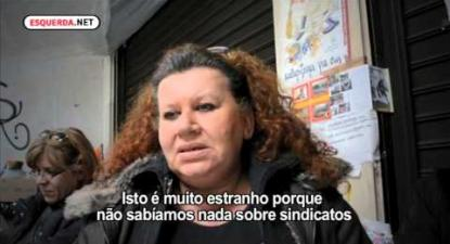ESQUERDA.NET | A luta das trabalhadoras de limpeza na Grécia