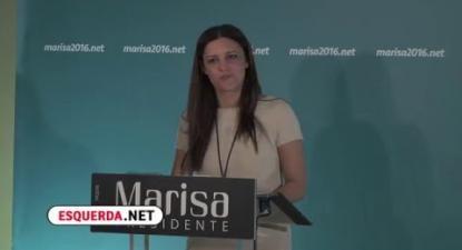 Presidenciais 2016 | Noite eleitoral | Marisa Matias