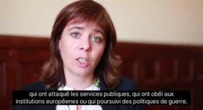 Catarina Martins em apoio à França Insubmissa e Mélenchon | ESQUERDA.NET