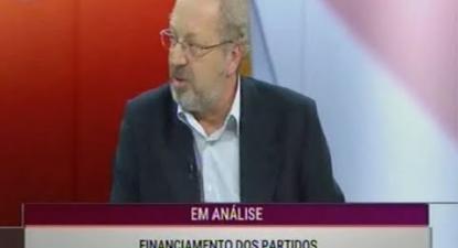 Luís Fazenda sobre o financiamento dos partidos | ESQUERDA.NET
