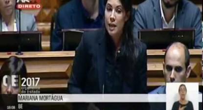 """Mariana Mortágua: """"Orçamento faz escolhas concretas pela equidade e pela valorização do trabalho"""""""