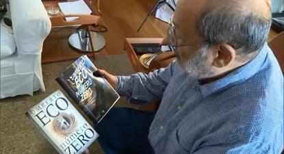Literatura: Umberto Eco fala sobre o livro Número Zero