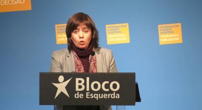 Catarina Martins na conferência sobre despenalização da morte assistida | ESQUERDA.NET