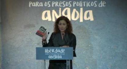 Bárbara Bulhosa | Liberdade aos Presos Políticos em Angola | 5 Maio 2016 | Fórum Lisboa
