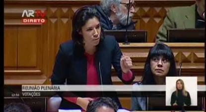 """Joana Mortágua: """"Jerusalém terá sempre de fazer parte do processo de negociação de paz"""""""