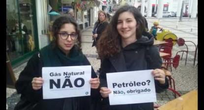 Manif 12 Nov: Salvar o Clima, Parar o Petróleo