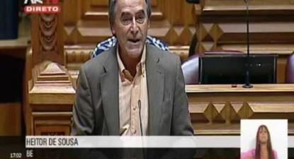 "Heitor de Sousa: ""Transportes públicos baratos pela sustentabilidade do planeta e das cidades"""