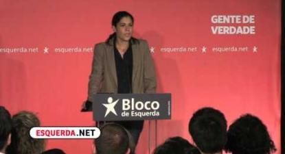 Declaração de Mariana Mortágua  | ESQUERDA.NET