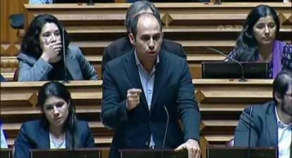"""Pedro Filipe Soares: """"Entre Assad, Putin e Trump não há inocentes. Inocentes são as vítimas"""""""