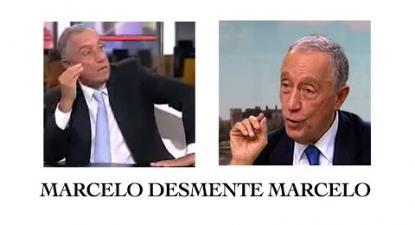 Marcelo desmente Marcelo