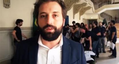 Sessão pública pela democracia e contra o golpe no Brasil | ESQUERDA.NET