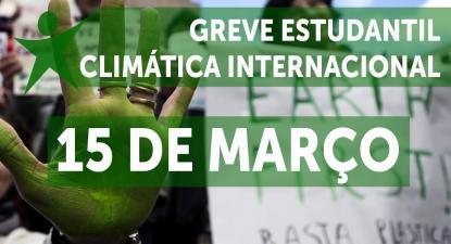 15Março: Greve climática estudantil internacional | ESQUERDA.NET