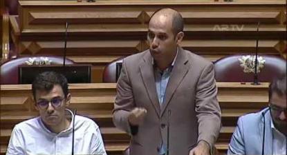 """Pedro Filipe Soares: """"Falta solução para os problemas estruturais da ferrovia"""""""