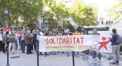 Solidariedade com a Catalunha em Lisboa | ESQUERDA.NET