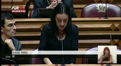 """Isabel Pires: """"O CETA é uma afronta brutal à democracia e ao interesse público"""""""