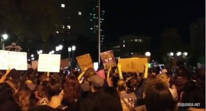 Protestos anti-Trump nos EUA | ESQUERDA.NET